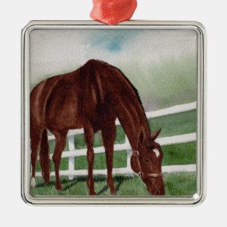 My Horse Metal Ornament