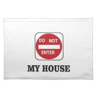 my house dne placemat