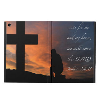 """My House"" -Joshua 24:15 Case For iPad Air"