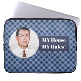 MY House MY Rules! Laptop Sleeve