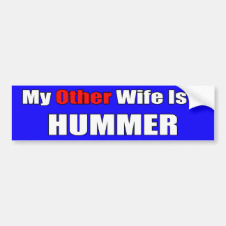 My Hummer Bumper Sticker
