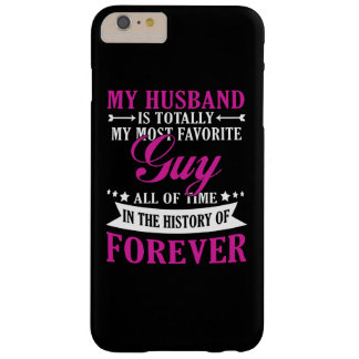 My Husband Forever Barely There iPhone 6 Plus Case