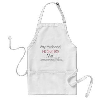 My Husband Honors Me/ 1 Peter 3:7 Standard Apron