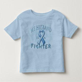 My Husband is a Fighter Light Blue Shirts