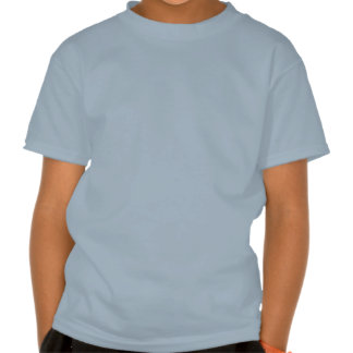 My Husband is a Fighter Light Blue Tee Shirts