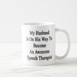 My Husband Is On His Way To Become An Awesome Spee Coffee Mug