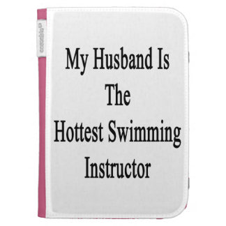 My Husband Is The Hottest Swimming Instructor Kindle Keyboard Cases