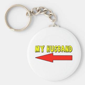 My Husband Keychain