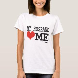 My husband loves me T-Shirt