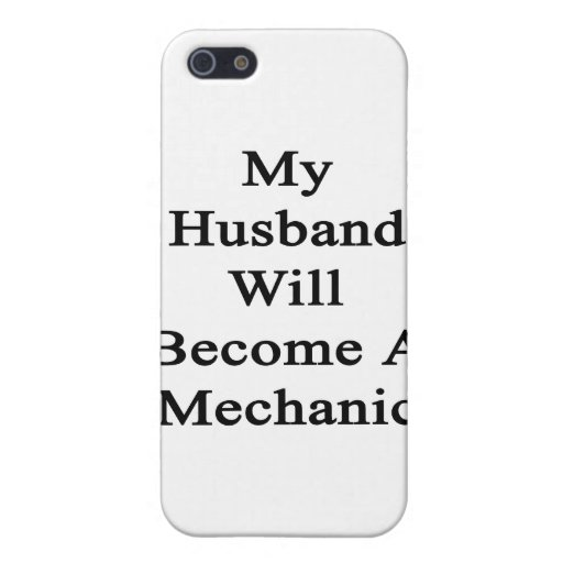 My Husband Will Become A Mechanic iPhone 5 Case