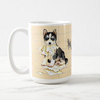 My Husky Ate my Homework Coffee Mug