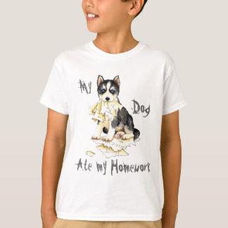 My Husky Ate my Homework T-Shirt