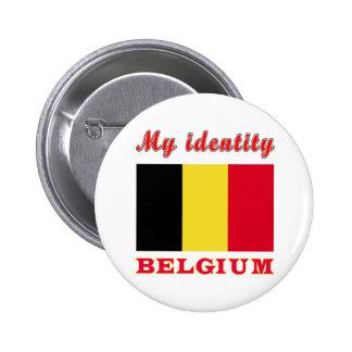 My Identity Belgium Pin
