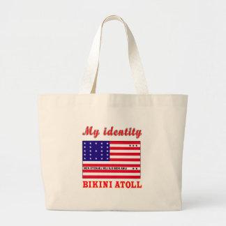 My Identity Bikini Atoll Canvas Bags