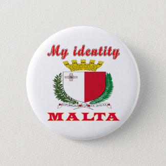 My Identity Malta 2 Inch Round Button