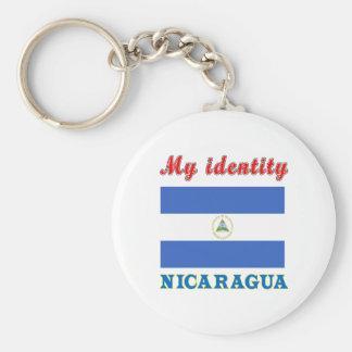 My Identity Nicaragua Keychain