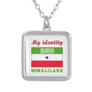 My Identity Somaliland Silver Plated Necklace