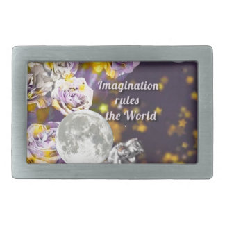My imagination is endless belt buckle