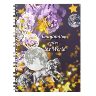My imagination is endless notebooks