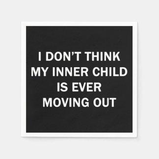 My Inner Child Paper Napkin