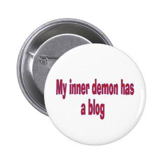 My inner demon has a blog pin