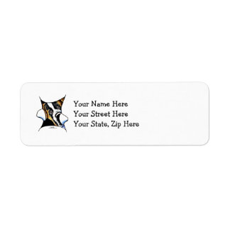 My Inner Saint Return Address Label