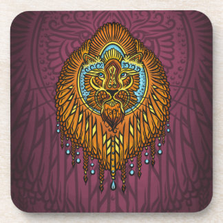 My inner voice, Tarot, strength, innerpower Coaster