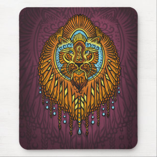My inner voice, Tarot, strength, innerpower Mouse Pad
