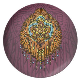 My inner voice, Tarot, strength, innerpower Plate
