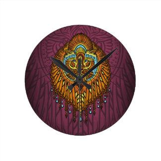 My inner voice, Tarot, strength, innerpower Round Clock
