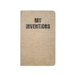 """My Inventions - Pocket Notebook 3.5"""" x 5.5"""""""