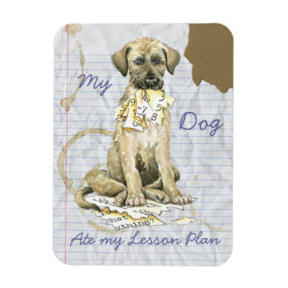My Irish Wolfhound Ate my Lesson Plan Magnet