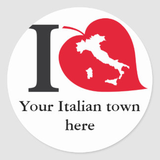 My Italian town stickers
