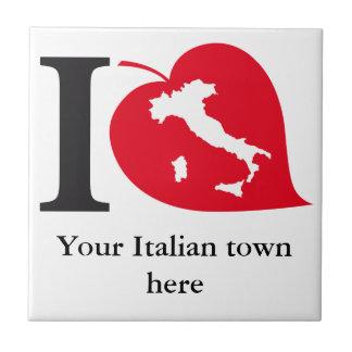 My Italian town tile