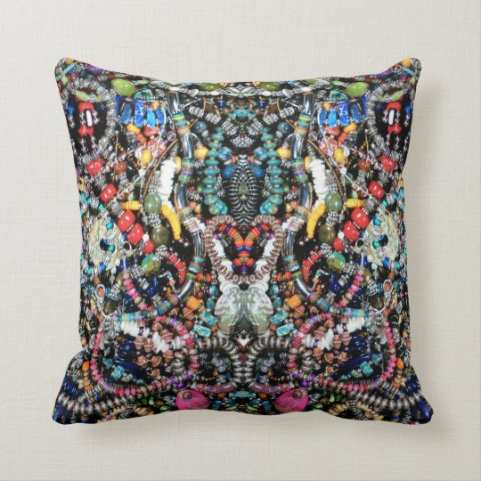 MY Jewellery - My Art Square Throw Pillow