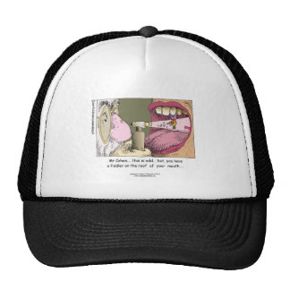 My Jewish Dentist Fiddler On Roof Cap (Funny) Trucker Hat