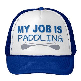 My Job Is Paddling Trucker Hat