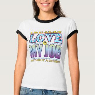 My Job Love Face T-shirt