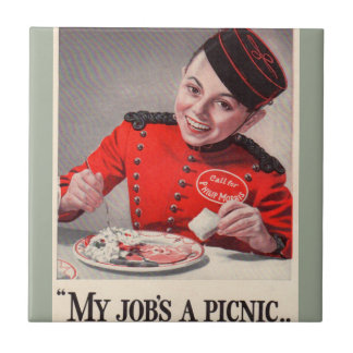 My Job's a Picnic - Little Johnny Philip Morris Tile
