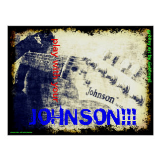 My Johnson Posters