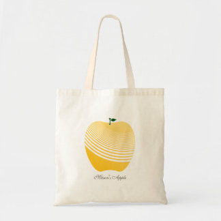 My Juicy Yellow Apple Grocery Tote Bag
