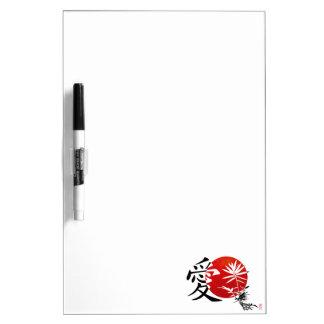 My Kanji Love #3 Dry Erase Board