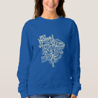 My kayak is my home sweatshirt