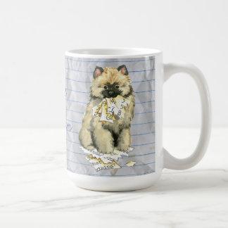 My Keeshond Ate My Lesson Plan Coffee Mug