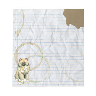My Keeshond Ate My Lesson Plan Notepad