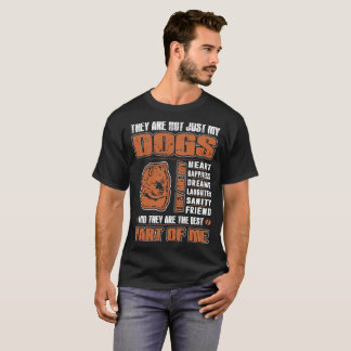 My Keeshond Dog They Are The Best Part Of Me Shirt