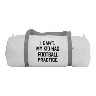 My Kid Has Football Practice Funny Gym Bag