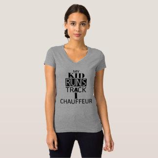 My Kid Run Track Shirt