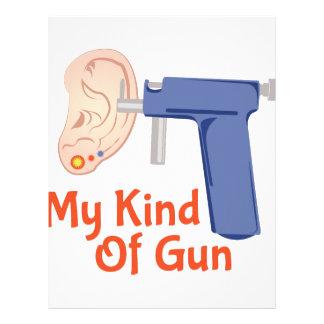 My Kind Of Gun Custom Letterhead
