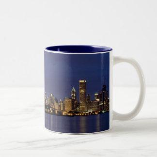 My Kind Of Town Two-Tone Coffee Mug